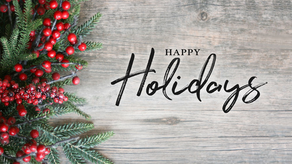 Happy Holidays from SECCC